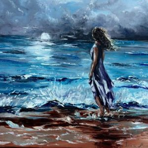 woman and the sea