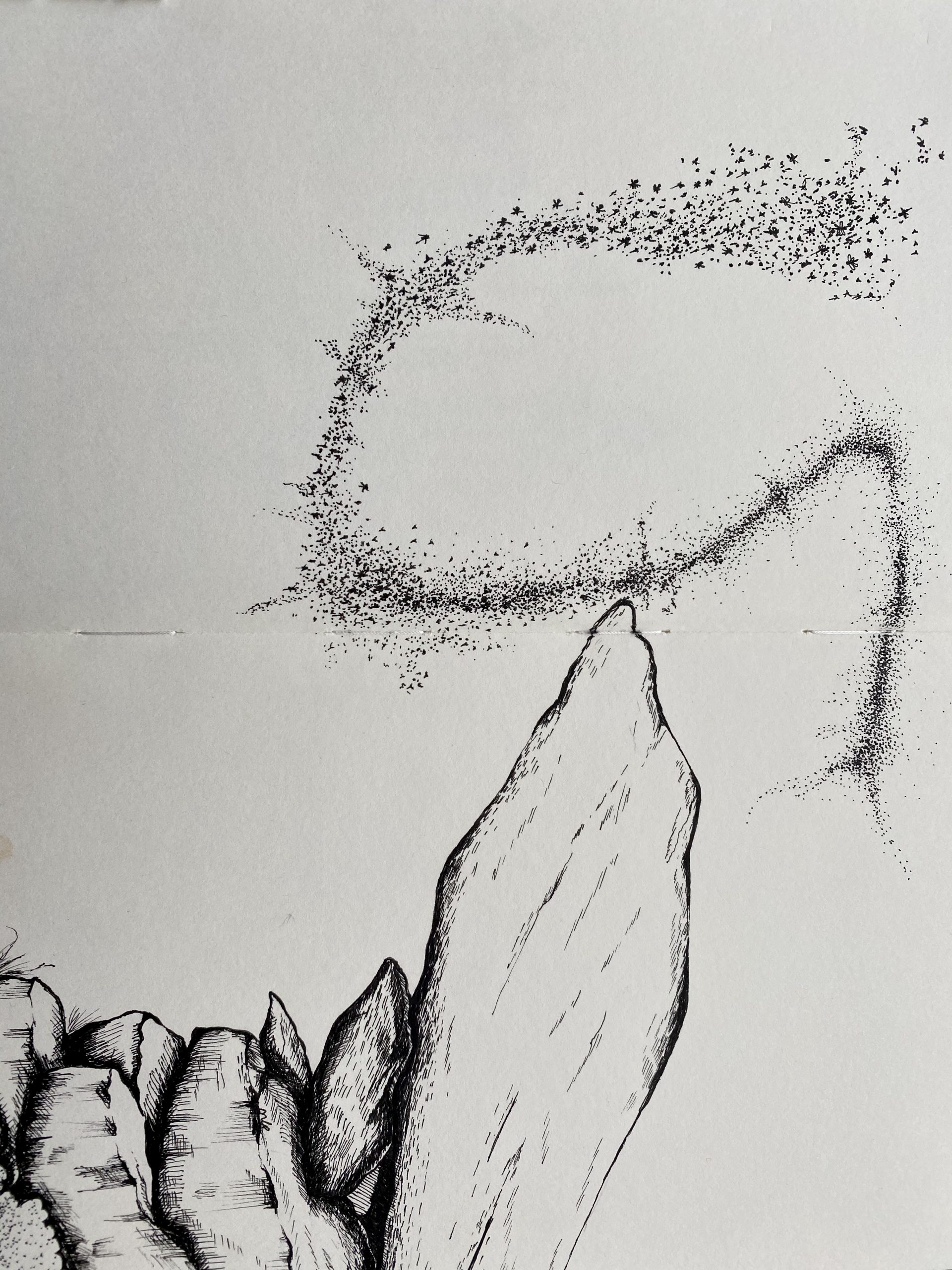 Illustration for Bengali Poetry