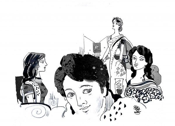 Illustration for Short Story Beauty Face ছোটগল্প রূপ