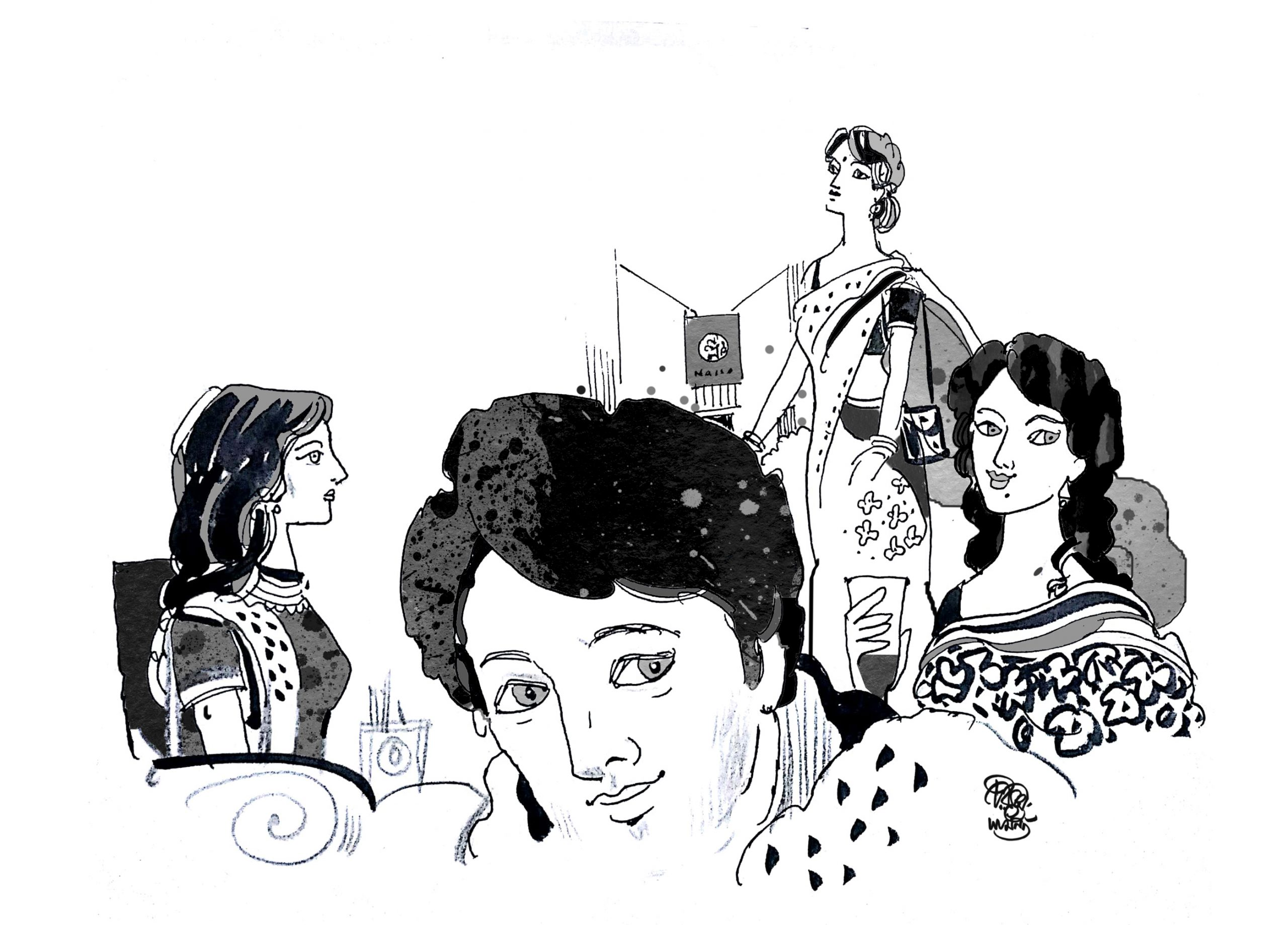 Illustration for Short Story Beauty Face ছোটগল্প রূপ