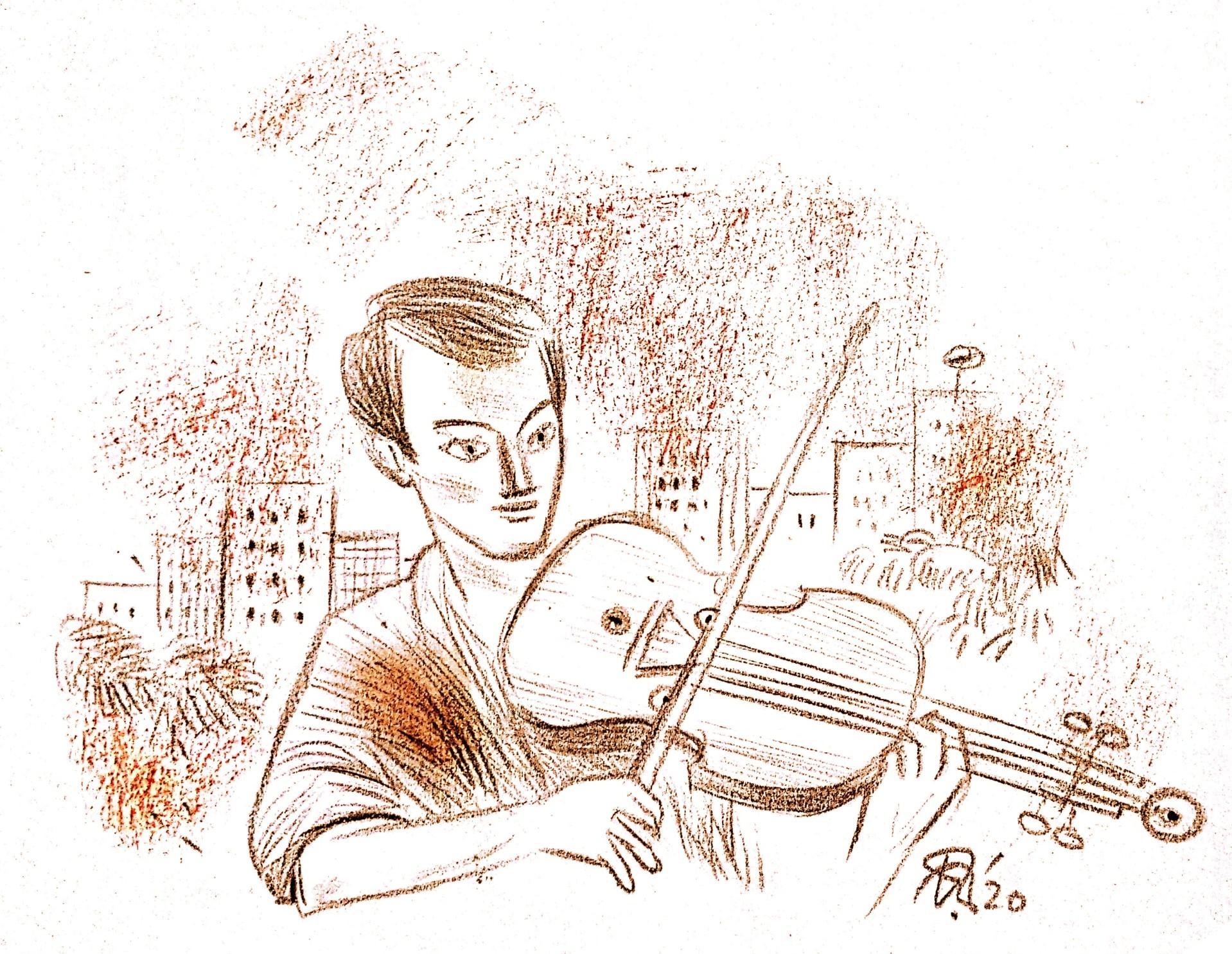 Indian classical music violin বেহালা