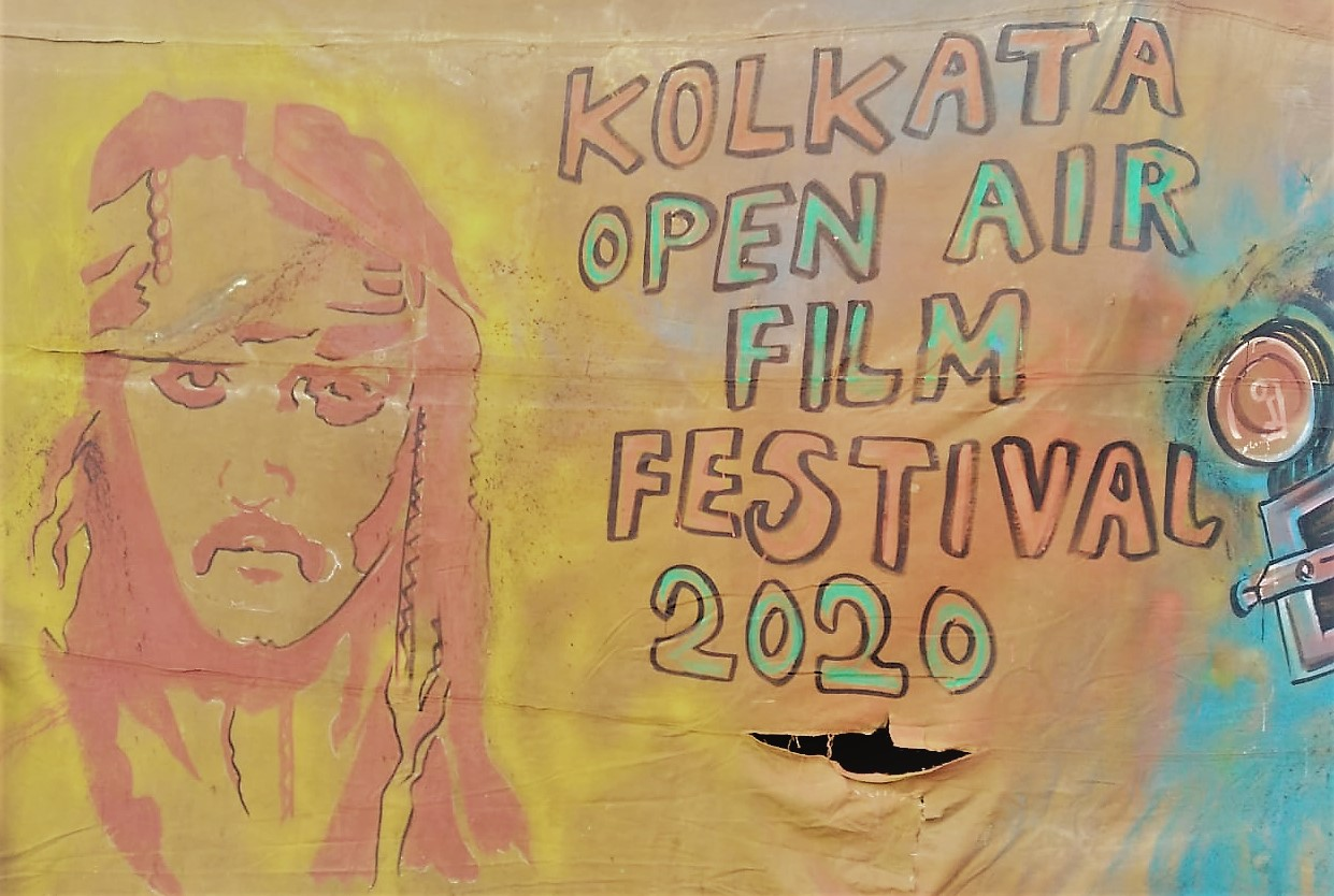 graffiti in open air film festival 2020