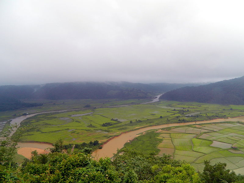 view from ialong eco park Meghalaya wikipedia
