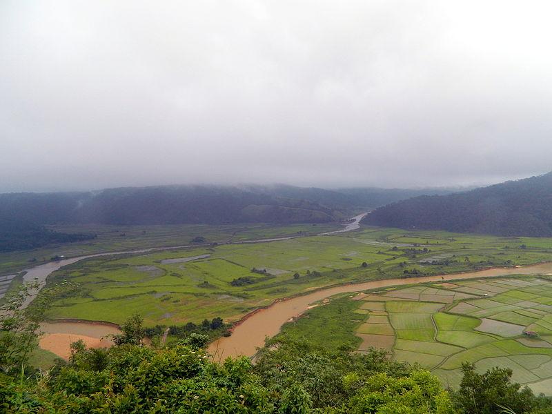 view from ialong eco park Meghalaya wikipedia