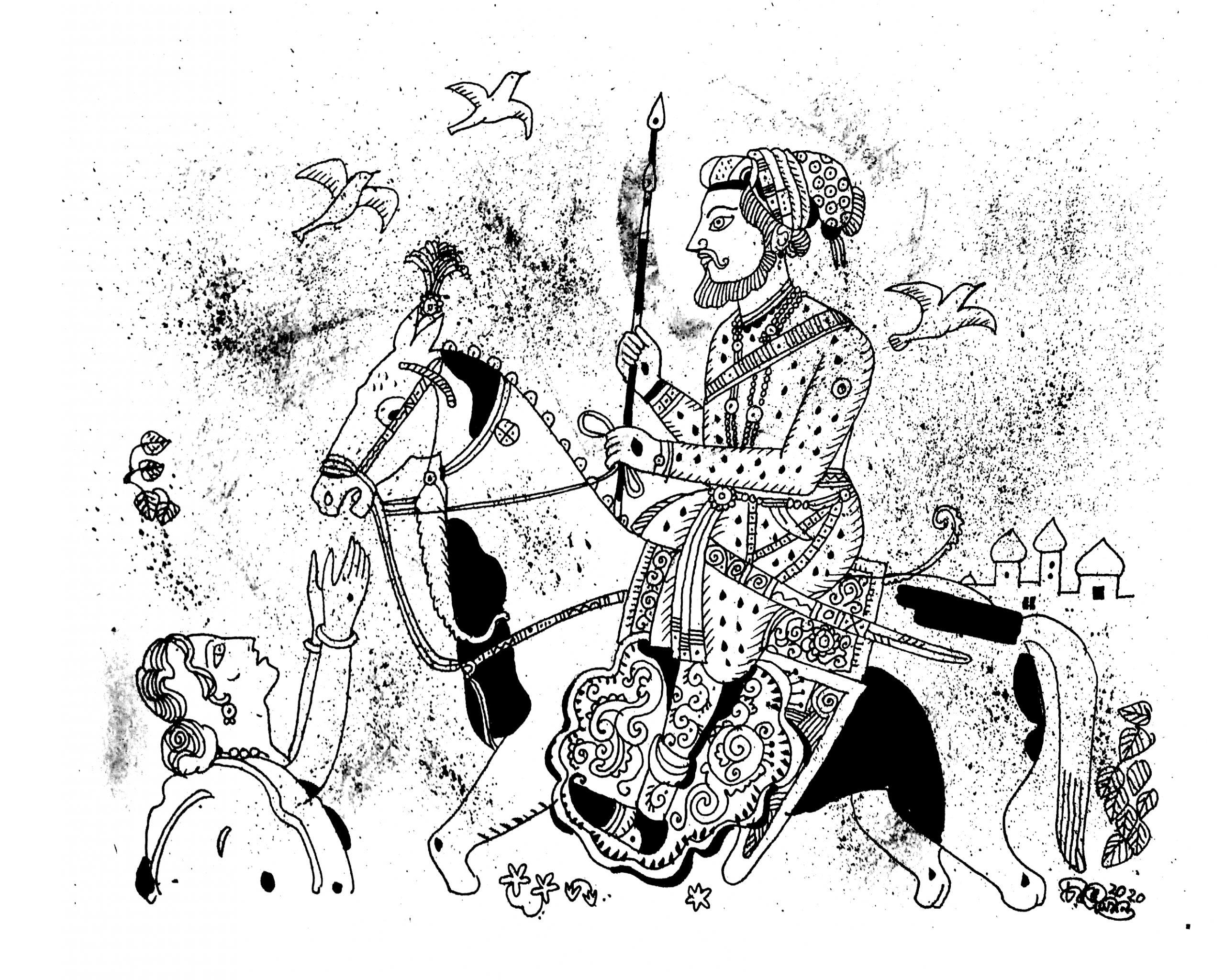 Babur in Samarkand