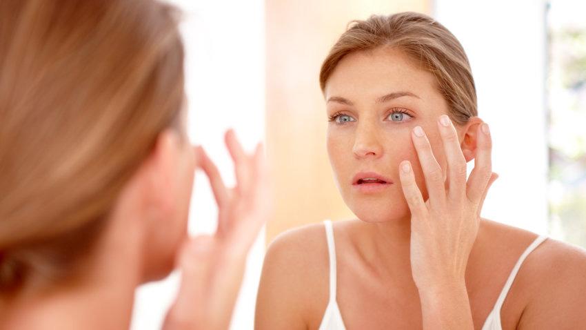 Taking care of her skin, winter skin care regime