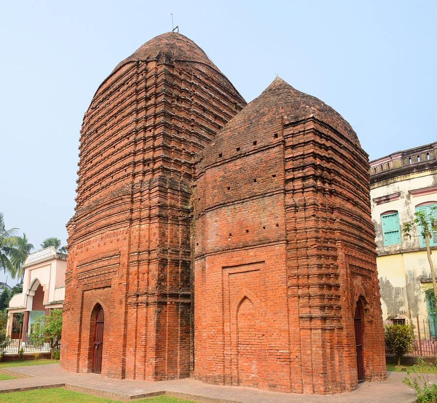 বৈদ্যপুরের জোড়া দেউল Amitabha Gupta