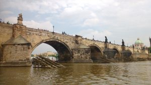 Prague by the Vlatabha River