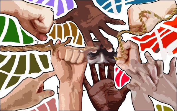 Illustration by Suvranil Ghosh for Racism Article