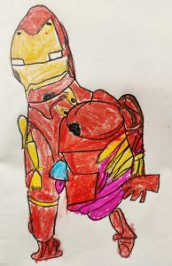 Iron man by Boisakh