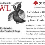 Bimal-Kundu-Sculpture-Drawings-Exhibition-at-Debovasha