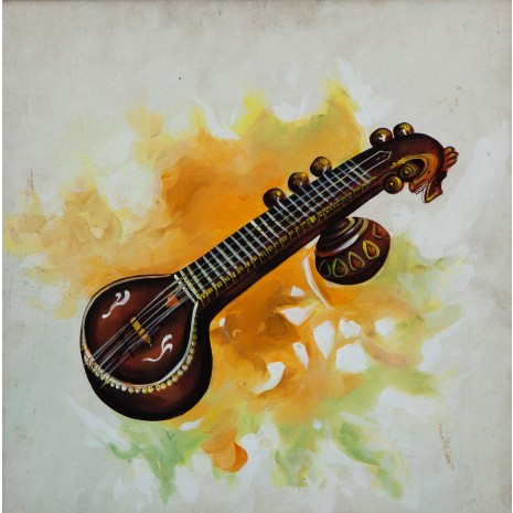 Veena musical instrument Arnab Roy article on music