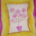 flowers rhymes kids section drawing